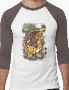 Traditional Nekobasu  Men's Baseball ¾ T-Shirt
