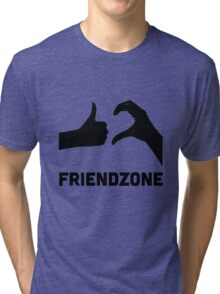Friendzoned Tri-blend T-Shirt