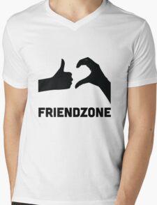 Friendzoned Mens V-Neck T-Shirt
