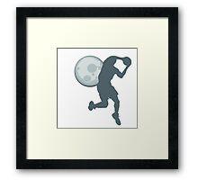 Ball at Night #2 Framed Print