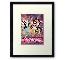 PowerPuff girls Framed Print