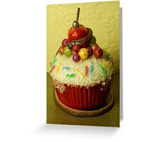 Snakes on a Cupcake Greeting Card