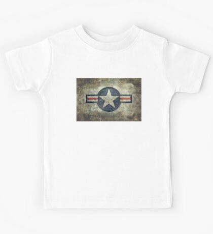 Vintage USAF Roundel symbol Kids Tee