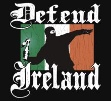 Defend Ireland (Vintage Distressed Design) by robotface