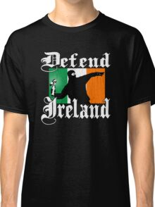 Defend Ireland (Vintage Distressed Design) Classic T-Shirt