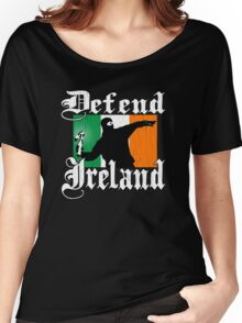 Defend Ireland (Vintage Distressed Design) Women's Relaxed Fit T-Shirt