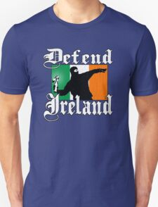 Defend Ireland (Vintage Distressed Design) Unisex T-Shirt