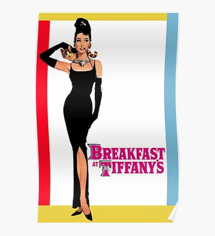 Breakfast at Tiffany's Poster