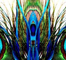 Metamorphosis Peacock Sticker