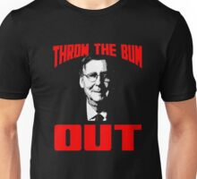 Mitch McConnell Throw the Bum Out Tshirt Unisex T-Shirt