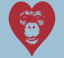 Everything's More Gratuitous With Monkeys! Kids Tee