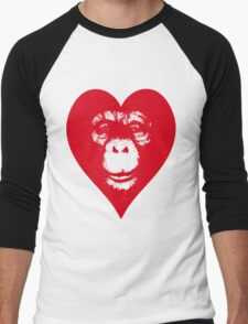 Everything's More Gratuitous With Monkeys! Men's Baseball ¾ T-Shirt