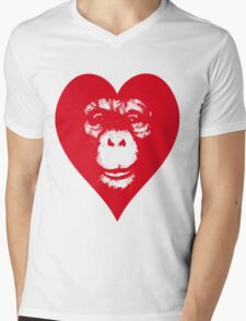 Everything's More Gratuitous With Monkeys! Mens V-Neck T-Shirt