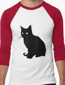 Whiskers Men's Baseball ¾ T-Shirt