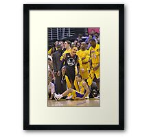 Steve Kerr Step Over Framed Print
