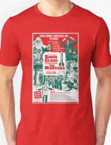 Santa Vs the Martians T-Shirt