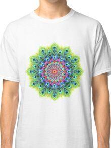 Peacock Mandala Classic T-Shirt