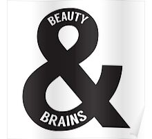 Beauty and Brains Poster