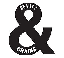 Beauty and Brains Photographic Print