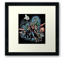 Guardians Far Away Framed Print
