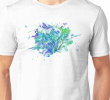 Butterflies - Green & Blue Unisex T-Shirt