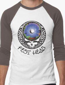 Fest Head Men's Baseball ¾ T-Shirt