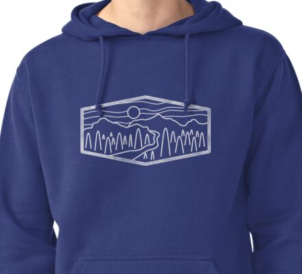 Mountain Pass Pullover Hoodie