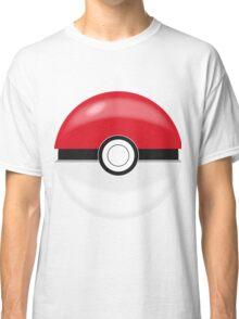 Red Pokaball, Pokemon GO  Classic T-Shirt