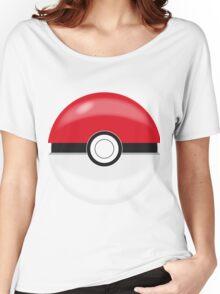 Red Pokaball, Pokemon GO  Women's Relaxed Fit T-Shirt
