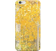 Colorado Aspens in the Fall iPhone Case/Skin