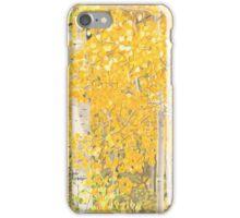 Colorado Aspens in the Fall iPhone Case/Skin