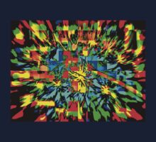 AN ARRAY OF STRIKING COLORS TO THE EYE! Kids Tee