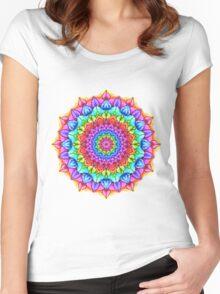 Marker Mandala Women's Fitted Scoop T-Shirt