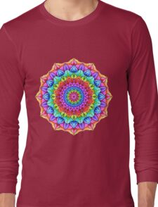 Marker Mandala Long Sleeve T-Shirt