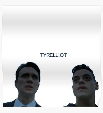 Mr Robot Tyrelliot Is Canon Poster