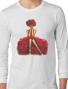 Rose girl Long Sleeve T-Shirt