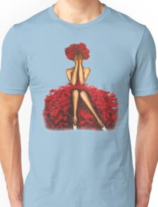Rose girl Unisex T-Shirt