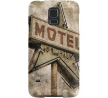 Vintage Grunge Star Motel Sign Samsung Galaxy Case/Skin