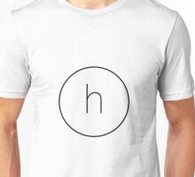 The Material Design Series - Letter H Unisex T-Shirt