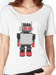 Vintage Robot Painting  Women's Relaxed Fit T-Shirt