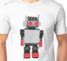 Vintage Robot Painting  Unisex T-Shirt