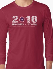 Stark & Rogers: 2016 Long Sleeve T-Shirt