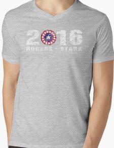 Stark & Rogers: 2016 Mens V-Neck T-Shirt
