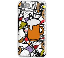 Oktoberfest Abstract 2 iPhone Case/Skin