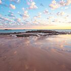 Entrance Point low tide sunset rocks by Elliot62