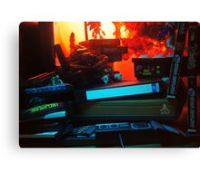 Atari 2600 - Video Games Room Canvas Print
