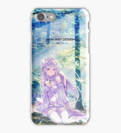 《Emilia》 Re:Zero kara Hajimeru Isekai Seikatsu iPhone Case/Skin