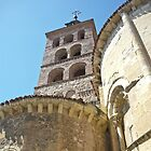 Segovia, Spain - Cathedral Tower by Michelle Falcony