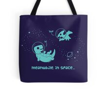 Meanwhile, In Space... (Pillows & Totes) Tote Bag