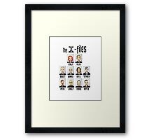 X FILES Framed Print